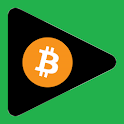 Free bitcoins by BitVids icon