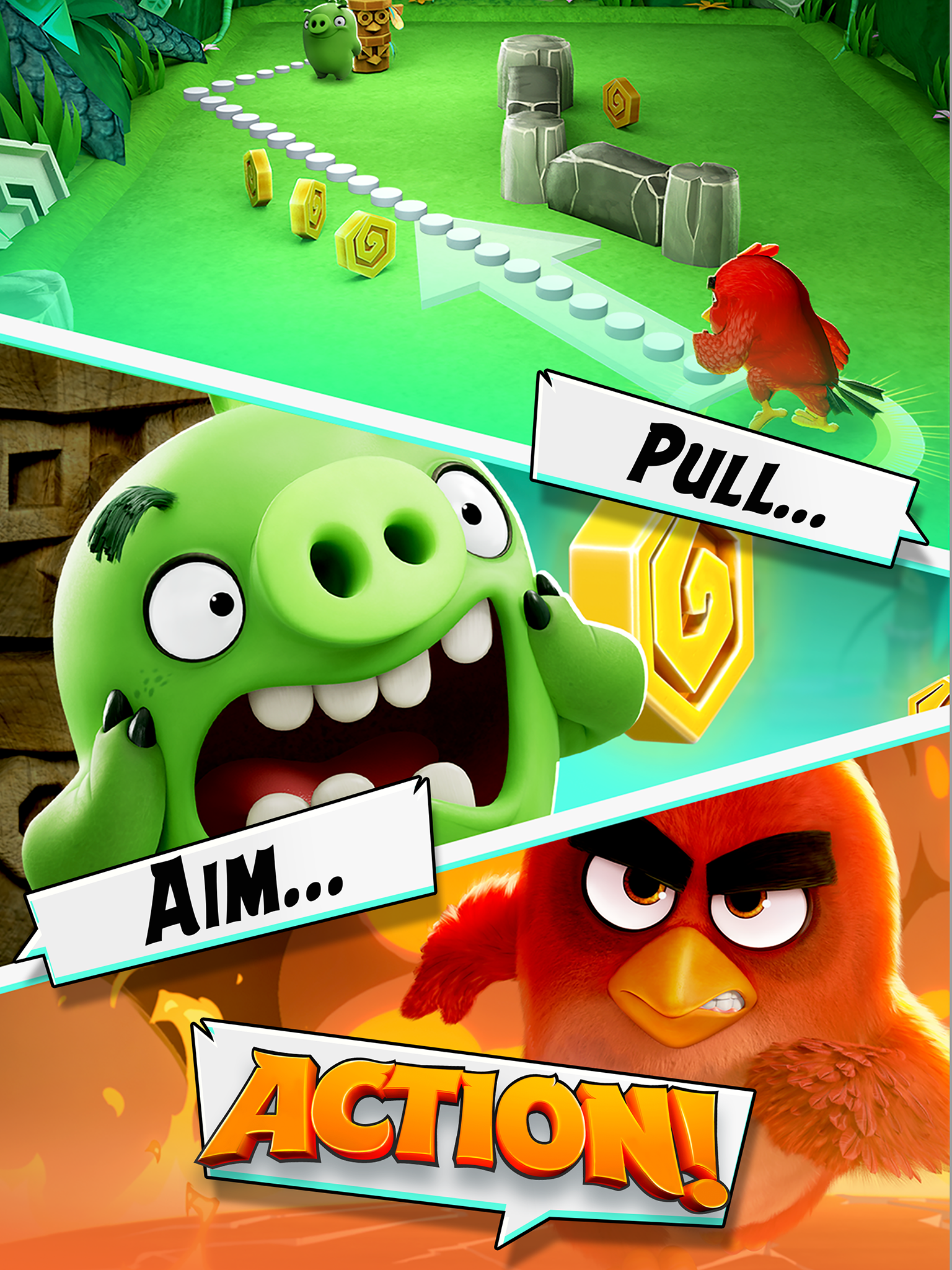 Angry Birds Action! screenshot #6