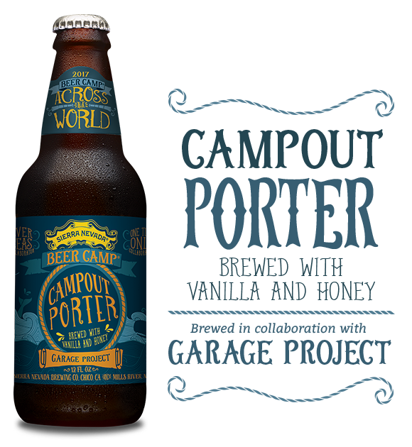 Logo of Sierra Nevada Beer Camp 2017: Campout Porter (Garage Project Collab)