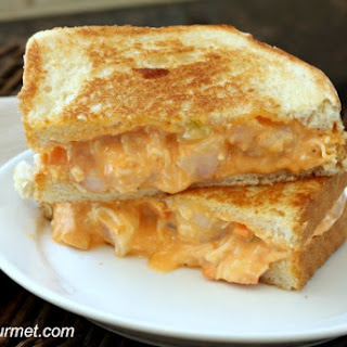 Buffalo Shrimp Grilled Cheese.
