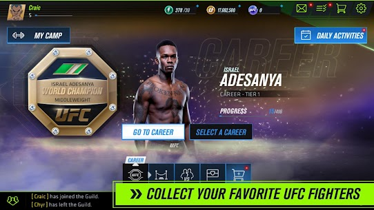UFC Beta APK (Unreleased) v0.8.02 2