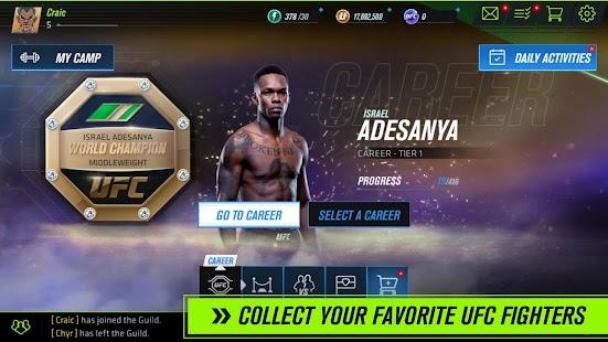 Schermata beta UFC