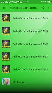 Canto de Cambacica Mp3 Offline - náhled