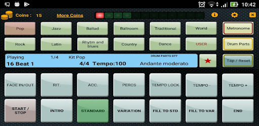 Metrodrummer metronome and drum machine - Apps on Google Play