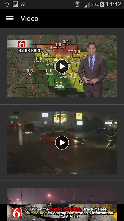 News On 6 Weather- screenshot