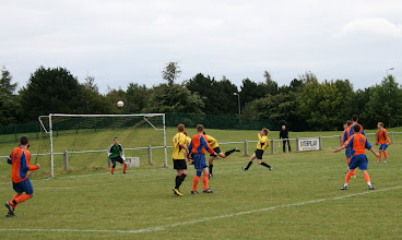 Photo: 29/08/11 v Asfordby Amateurs (Beacon Bitter League Cup Round 1) 6-0 - contributed by Martin Wray