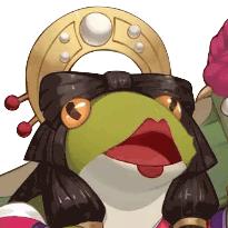 かぐや姫蛙