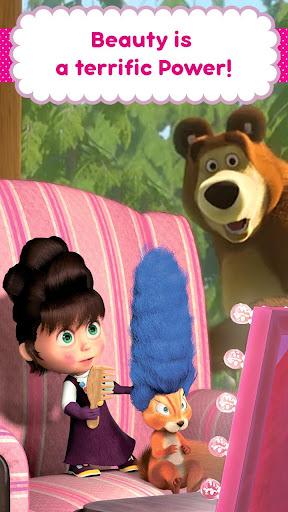 Masha and the Bear: Hair Salon and MakeUp Games 1.1.8 screenshots 5