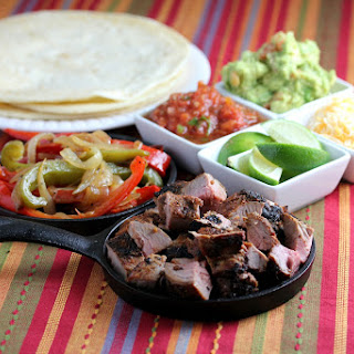 Grilled Pork Tenderloin Fajitas Recipe