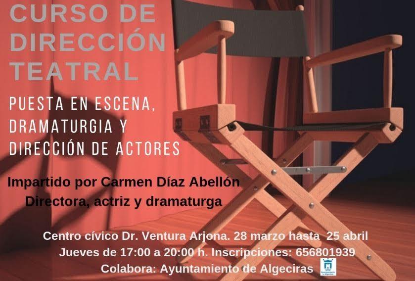 La actriz y dramaturga Carmen Díaz Abellón impartirá un curso de dirección teatral