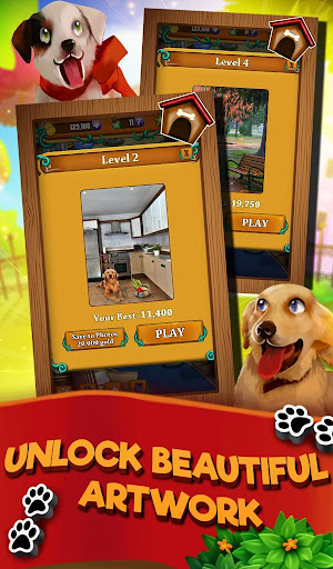 Match 3 Puppy Land - Matching Puzzle Game apkmr screenshots 19