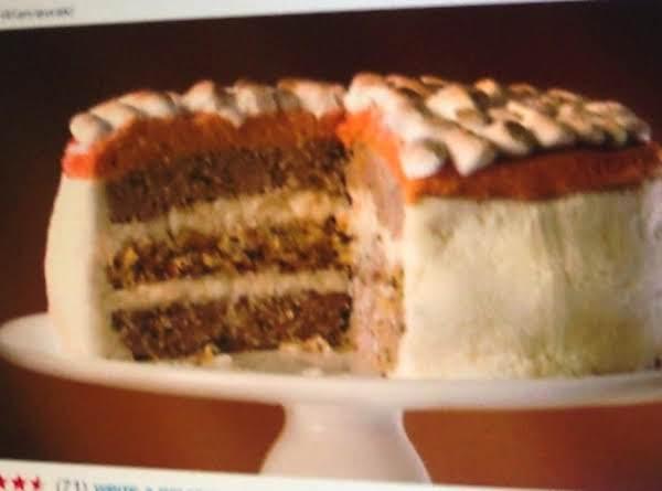 Complete  Leftover Turkey Dinner.. Cake Recipe