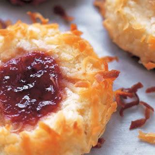 Jam Thumbprint Cookies.