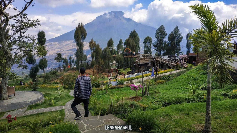 Keindahan taman posong dan gunung sumbing