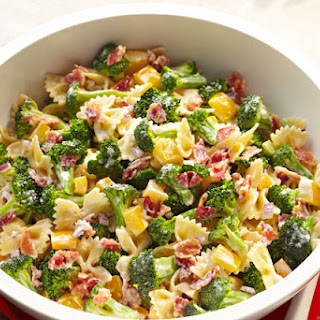 Tangy Broccoli-Pasta Salad.