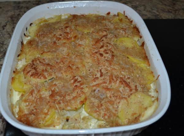Potato- Artichoke Gratin Recipe
