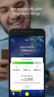 myXL- screenshot thumbnail