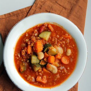 Chunky Vegetable Harissa Stew Recipe