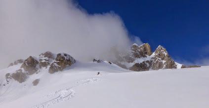 Photo: Colin on the Col des Ves