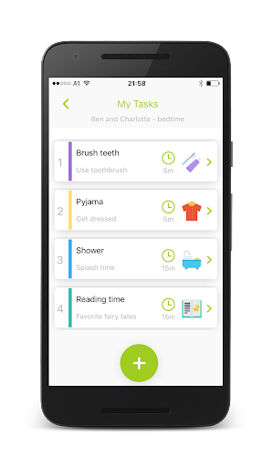 Kids task timer - visual timer for kids 1.0.211.0.21 screenshots 2