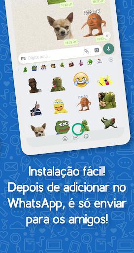 Brazil Funny Memes - Stickers Whatsapp 17.0 screenshots 2