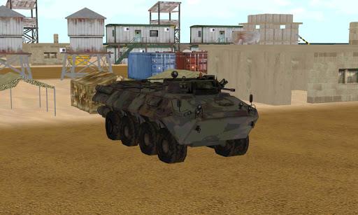 軍の貨物ジープタンク輸送