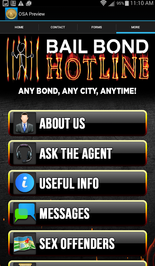 Bail Bond Hotline Of TX- screenshot