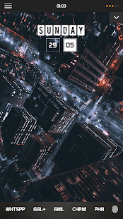 City Lights for KLWP Screenshot