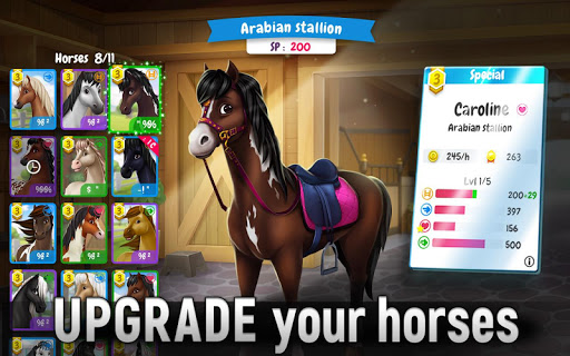 Horse Legends: Epic Ride Game apkbreak screenshots 1