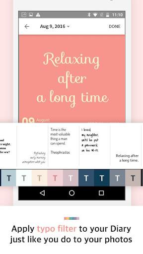 Paletto: Typo filter to diary