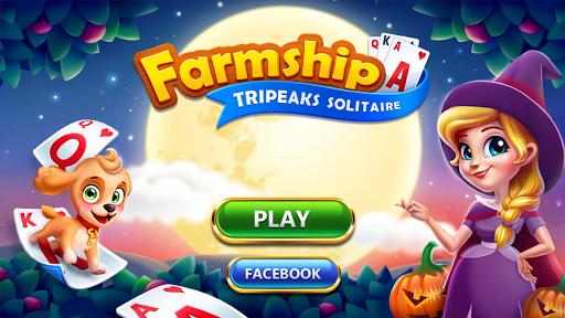 Solitaire - Farmship - Tripeaks screenshots 1