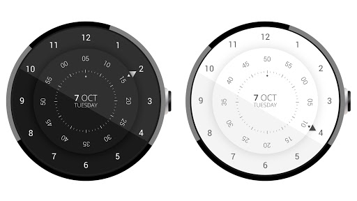 Roto 360 Watch Face app for Android screenshot
