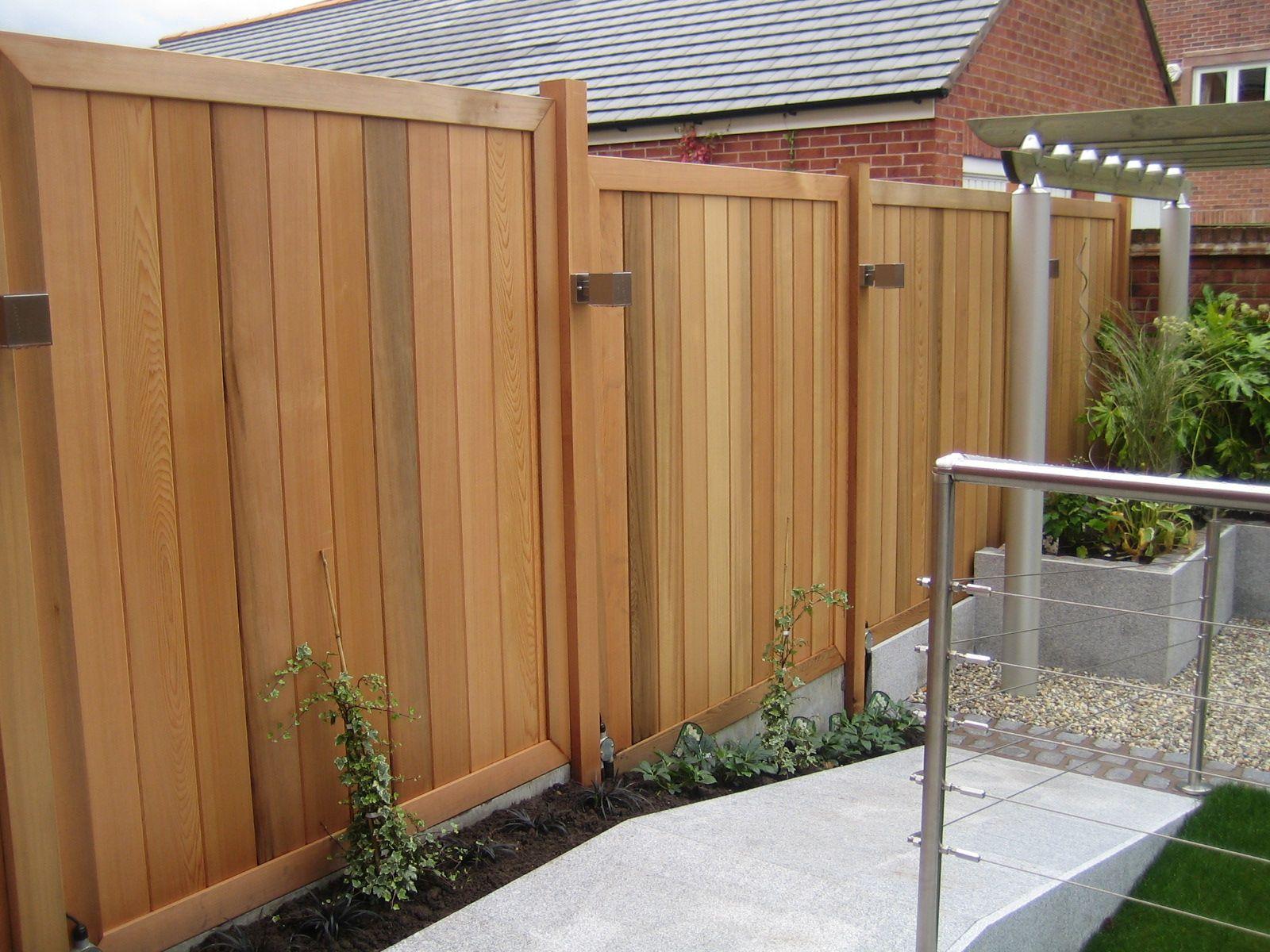 Image result for cedar fencing