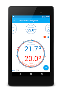 Smart Thermostat with Arduino Yun- screenshot thumbnail