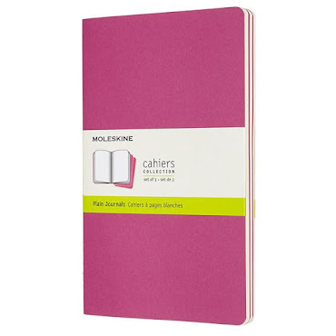 Cahier Journal Large Pink