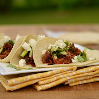 Slow-Cooker Bison Tacos with Zucchini Chimichurri