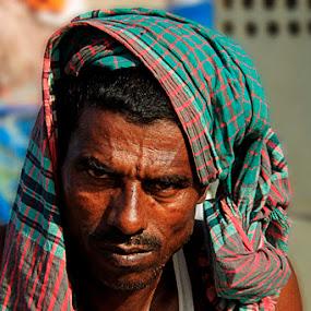 Eagle Eyes by Andi Halil - People Portraits of Men
