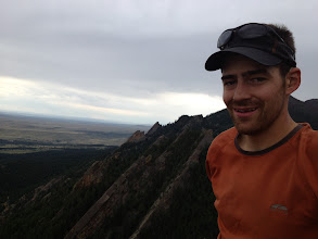 Photo: Dan Mottinger on top of Angel's Way