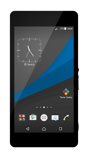 Dark Lollipop - Blue Theme
