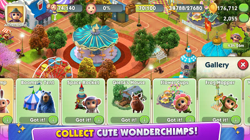 Screenshot for Wonder Park Magic Rides in United States Play Store