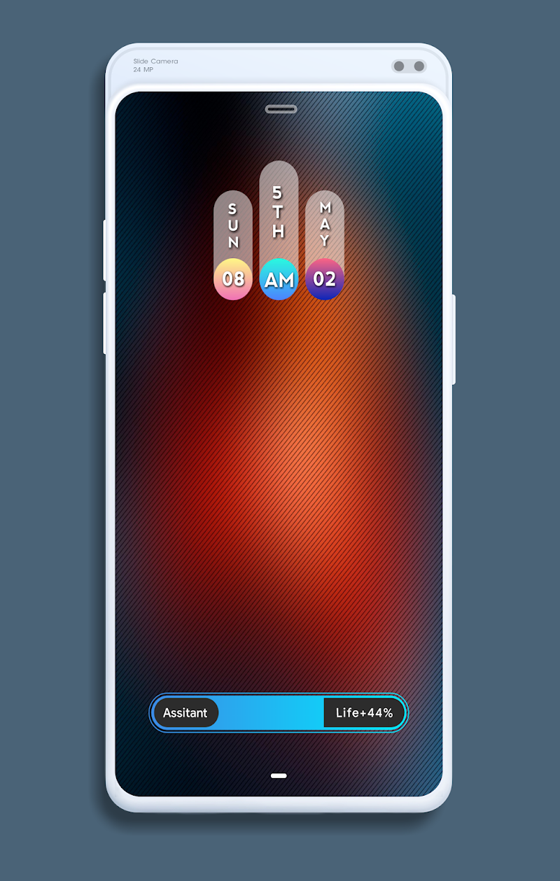 DCent kwgt Screenshot 1