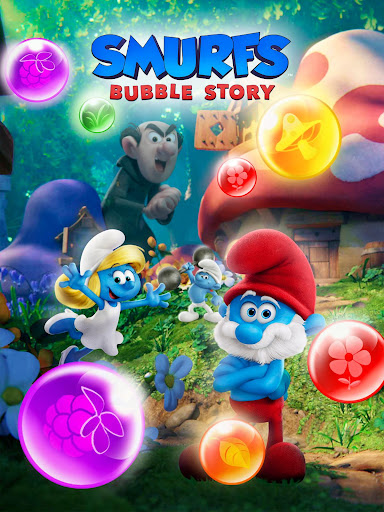 Smurfs Bubble Shooter Story 2.15.050204 screenshots 16