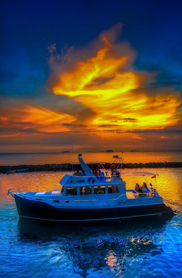 by Lemuel Lee - Transportation Boats