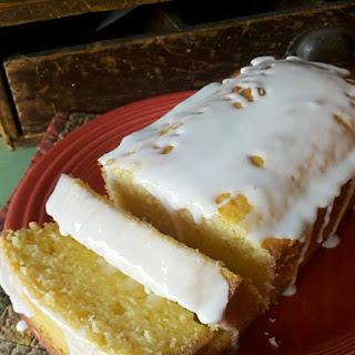 Starbucks Lemon Pound Cake.