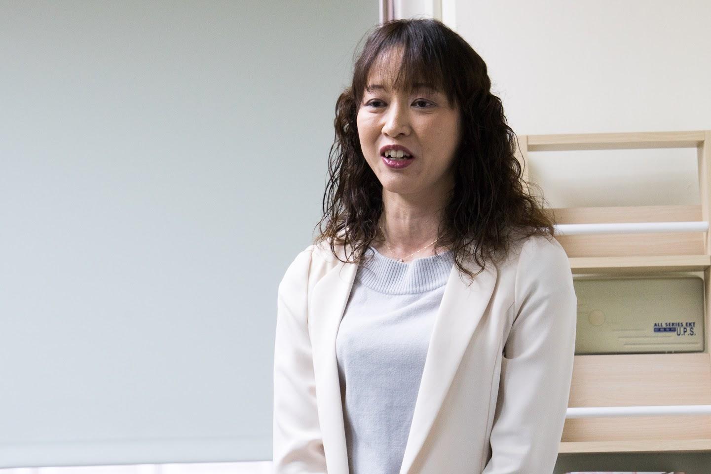 (公財)北海道観光振興機構 事業企画推進部人材育成 サービス向上グループ・梶川郁子 リーダー