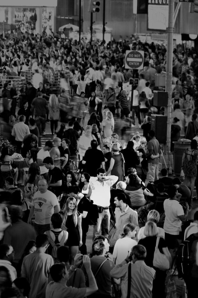 Lost In Times Square di photofabi77