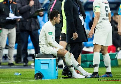 Le PSG communique la durée d'absence de Neymar