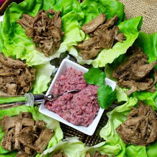 Dijon Maple Balsamic Slow Cooker Pork Tenderloin.