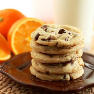 Orange Chocolate Chip Cookies (tastes just like an Orange Milano, but better!)