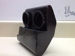 Photo: This connects the throttle bodies to the original KLR air box.